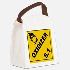 ADR Sticker - 5.1 Oxidizer Canvas Lunch Bag
