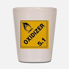 ADR Sticker - 5.1 Oxidizer Shot Glass