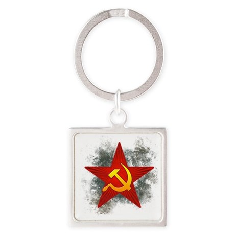 cccp Square Keychain