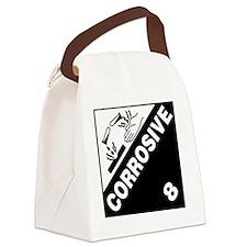 ADR Sticker - 8 Corrosive Canvas Lunch Bag