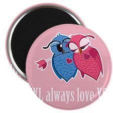 Romantic Owls Magnet