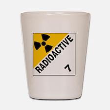 ADR Sticker - 7 Radioactive Shot Glass