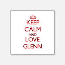 Keep calm and love Glenn Sticker