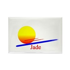 Jade Rectangle Magnet