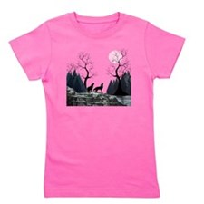 Howling Wolves Girl's Tee