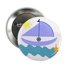 "Little Sailor Boy 2.25"" Button"
