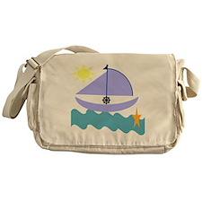 Little Sailor Boy Messenger Bag