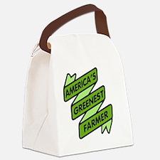 Greenest Farmer Canvas Lunch Bag
