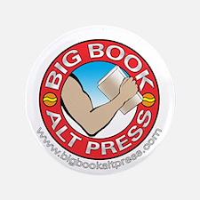 "Big Book Alt Press Logo 3.5"" Button"