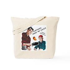 Funny Flapjacks Tote Bag