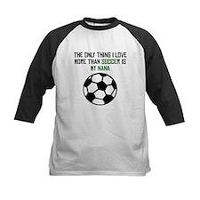 Soccer Nana Baseball Jersey