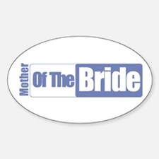 Mother of the Brides Oval Decal