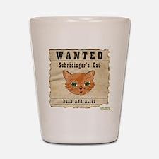 WANTED: Schrodingers Cat Shot Glass