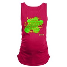 The Fear of Long Words Maternity Tank Top