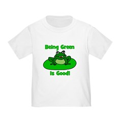 Being Green Frog T