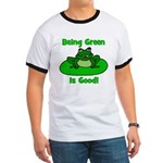 Being Green Frog Ringer T