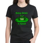 Being Green Frog Women's Dark T-Shirt