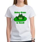 Being Green Frog Women's T-Shirt
