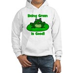 Being Green Frog Hooded Sweatshirt