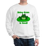 Being Green Frog Sweatshirt