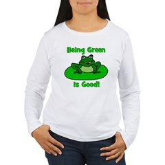 Being Green Frog T-Shirt