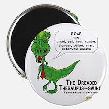 The Dreaded Thesaurus-saurus Magnet