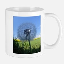Shiny dandelion Mugs