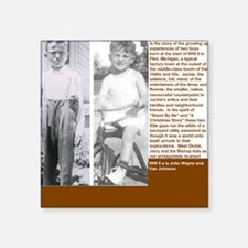 """Jackies Back Cover Square Sticker 3"""" x 3"""""""