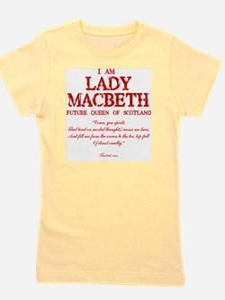 Lady Macbeth (red) Girl's Tee