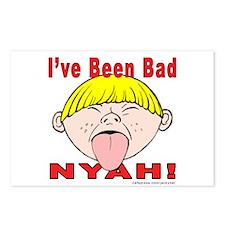 Nyah Bad Boy! Postcards (Package of 8)