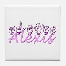Alexis Tile Coaster