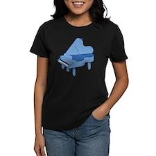 Blue Baby Grand Piano Tee