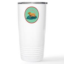 I love capybaras Travel Mug