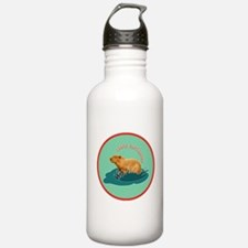 I love capybaras Water Bottle