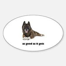 Brindle Akita Photo Decal