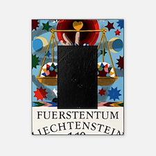 1977 Liechtenstein Libra Postage Sta Picture Frame