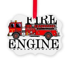 Red Fire Engine Ornament