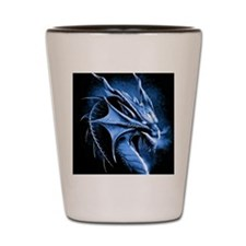 Winter Dragon Shot Glass