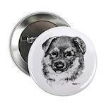 German Shepherd Puppy Button
