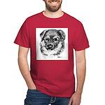 German Shepherd Puppy Dark T-Shirt