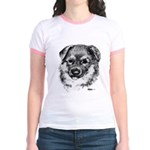 German Shepherd Puppy Jr. Ringer T-Shirt