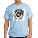 German Shepherd Puppy Light T-Shirt