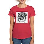 German Shepherd Puppy Women's Dark T-Shirt