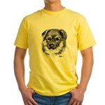 German Shepherd Puppy Yellow T-Shirt