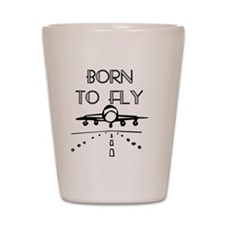 Born to Fly Shot Glass