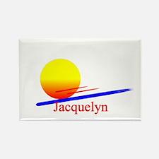 Jacquelyn Rectangle Magnet