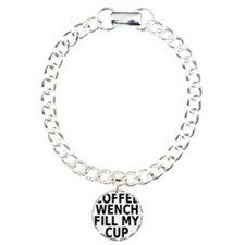 Coffee wench fill my cup Bracelet