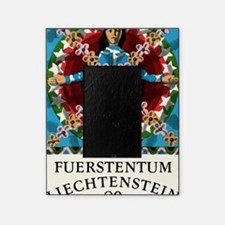 1977 Liechtenstein Virgo Postage Sta Picture Frame
