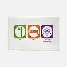 Eat Sleep Nuclear Engineering Rectangle Magnet