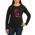 9th Birthday Women's Long Sleeve Dark T-Shirt